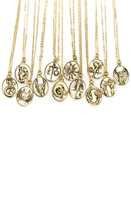 Talon Gold Leo Necklace