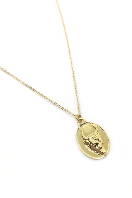 Talon Gold Taurus Necklace