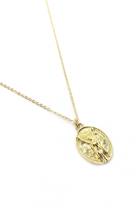 Talon Gold Virgo Necklace