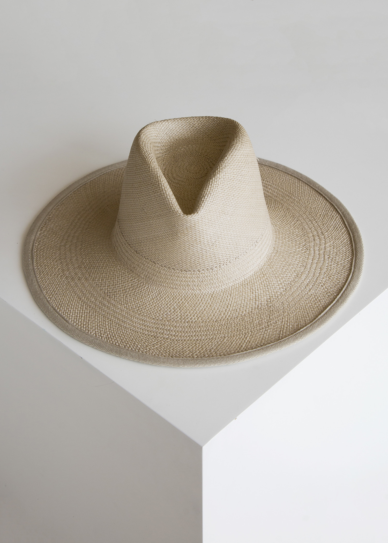 74aa56a732cbdf Clyde Wide Brim Panama Hat Putty/Panama Straw | Garmentory