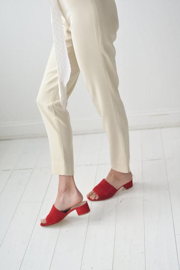 Maryam Nassir Zadeh Suede Slide Sandals sale big sale outlet wide range of big discount sale online get authentic for sale IDzSqnja