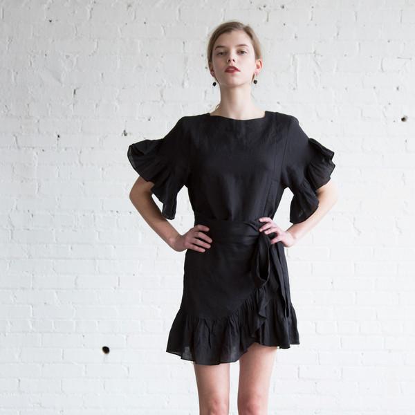 f471845a723 Isabel Marant Etoile Delicia Dress Black  255