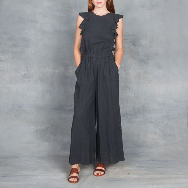 d7e2e1558677 Ulla Johnson Viola Jumpsuit in Midnight. sold out. Ulla Johnson
