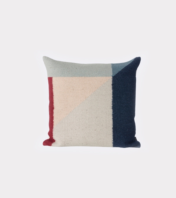 Ferm Living Kelim Pillow Rose Triangle
