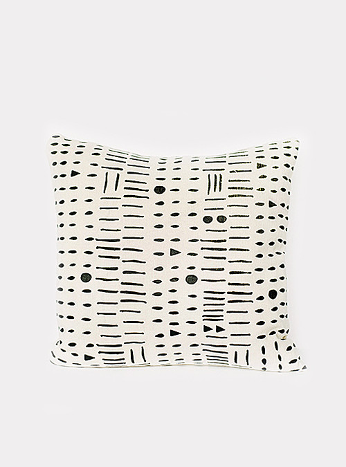 Leah Duncan Morse Code Pillow