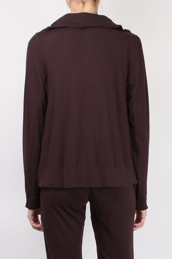 Skin Organic Jersey Jacket - Raisin