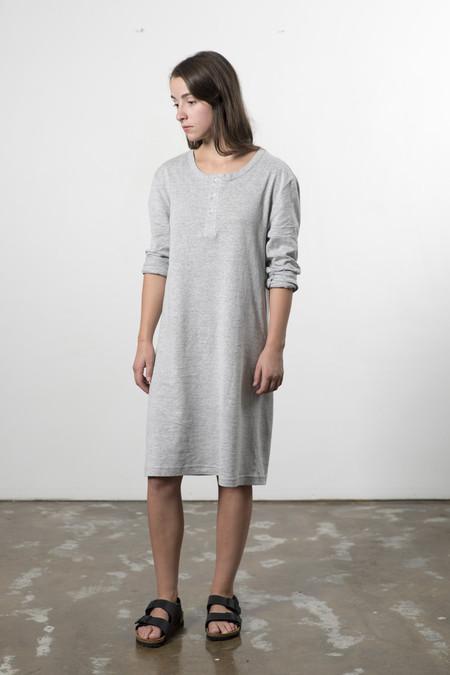 Good Studios Hemp Jersey Henley Dress