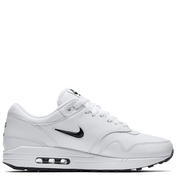 7152cf323f0d NIKE AIR MAX 1 PREMIUM SC JEWEL QS WHITE   BLACK. sold out. Nike