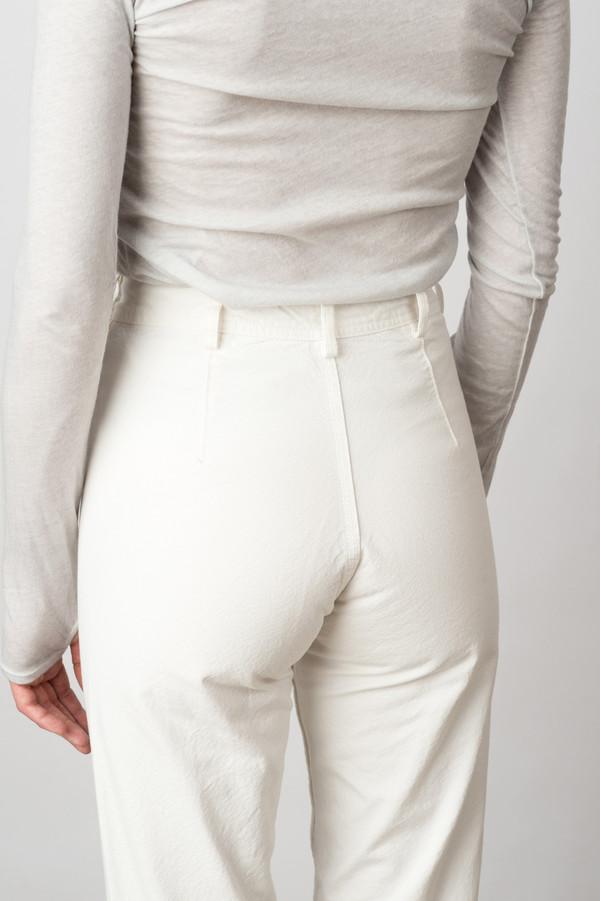 Jesse Kamm Ranger Pant In Salt White