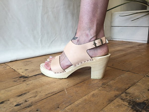 No.6 Harper Clog High Heel