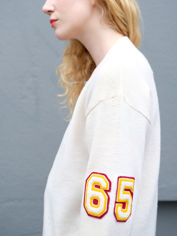 Vintage Letter Sweaters 7