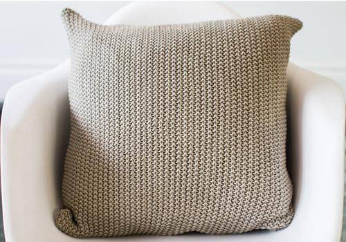 Darzzi Moss Stone Cotton Cushion