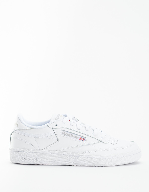 Reebok Club C 85 Sneakers - White Light Grey  2d6cea648