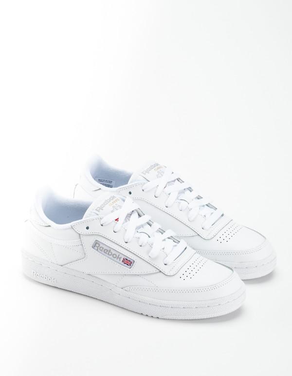 6a758e73b09fa Reebok Club C 85 Sneakers - White Light Grey.  67.00. Reebok