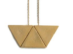 Laura Lombardi Trapezoid Necklace
