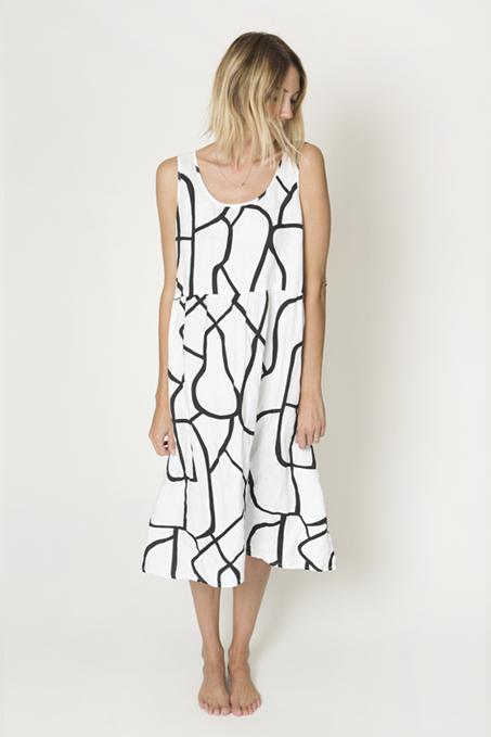Ilana Kohn Haley Dress - White