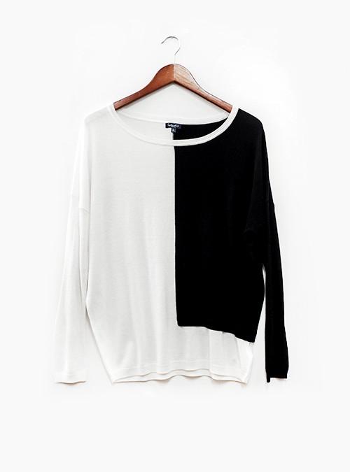 Splendid Placed Block Sweater