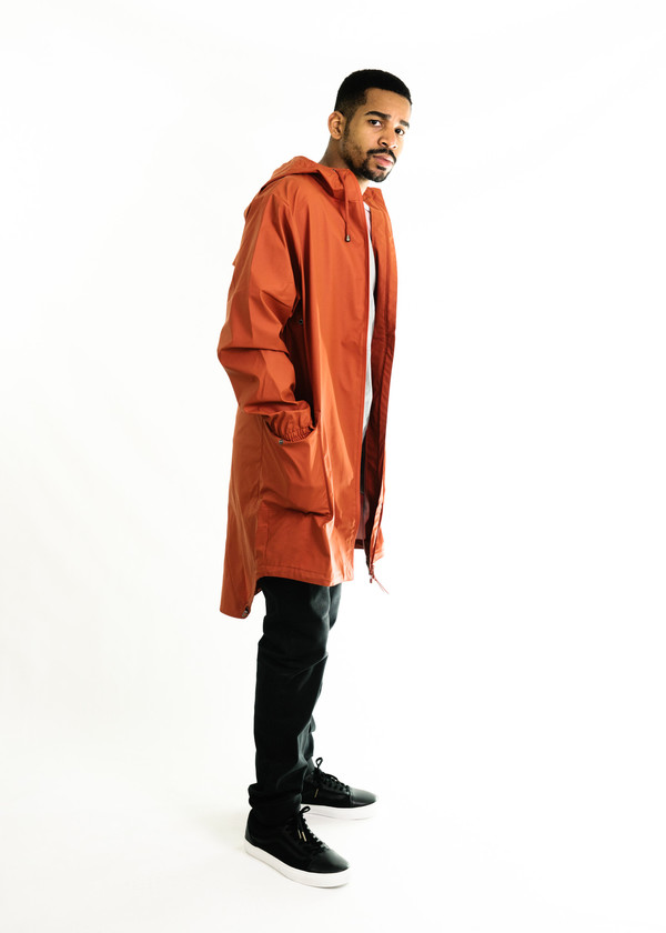 Rains Parka (Rust) | Garmentory
