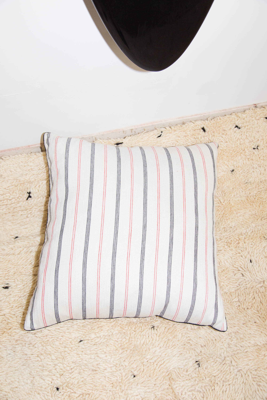 Large Floor Pillows Cotton : Heidi Merrick Cotton Striped Floor Pillow Garmentory