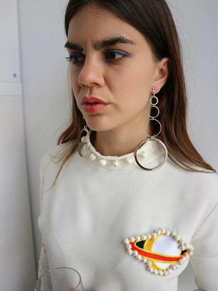 Barragán Edie Earrings - Silver