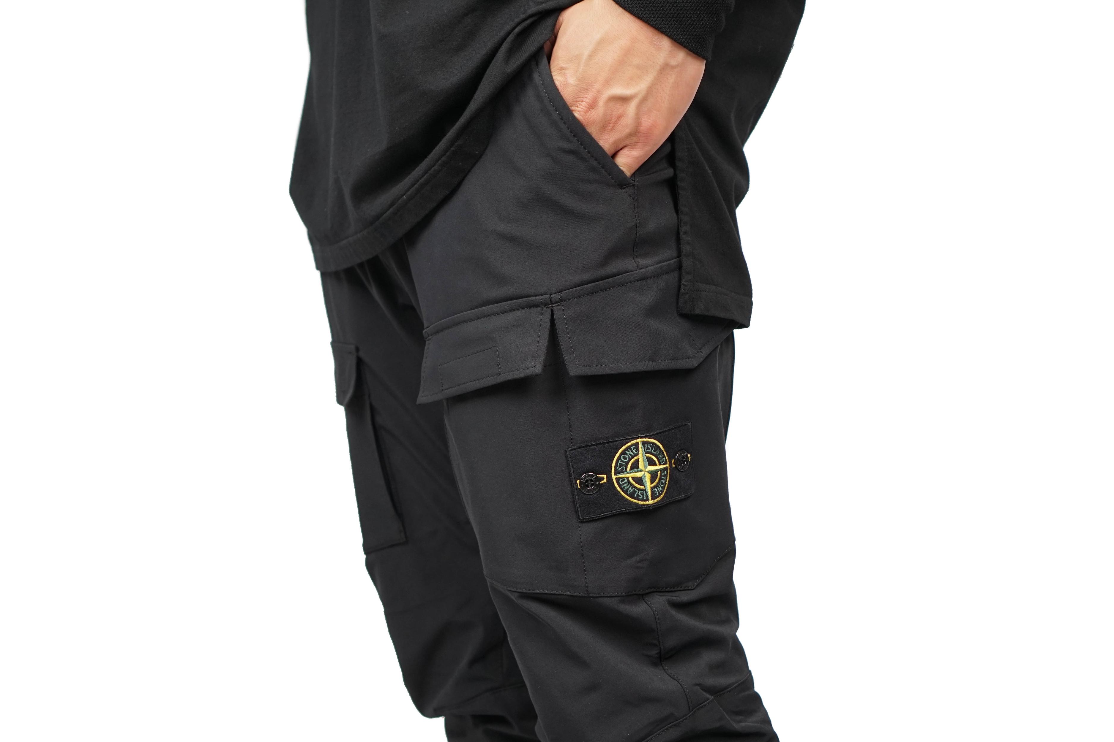 "Stone Island Cargo Pants ""Black"" | Garmentory"