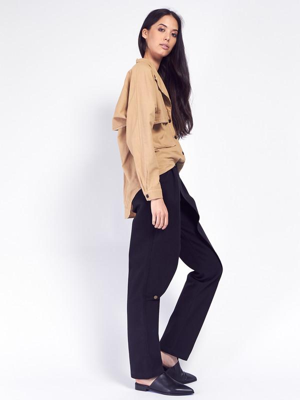 69 Front Flap Jeans