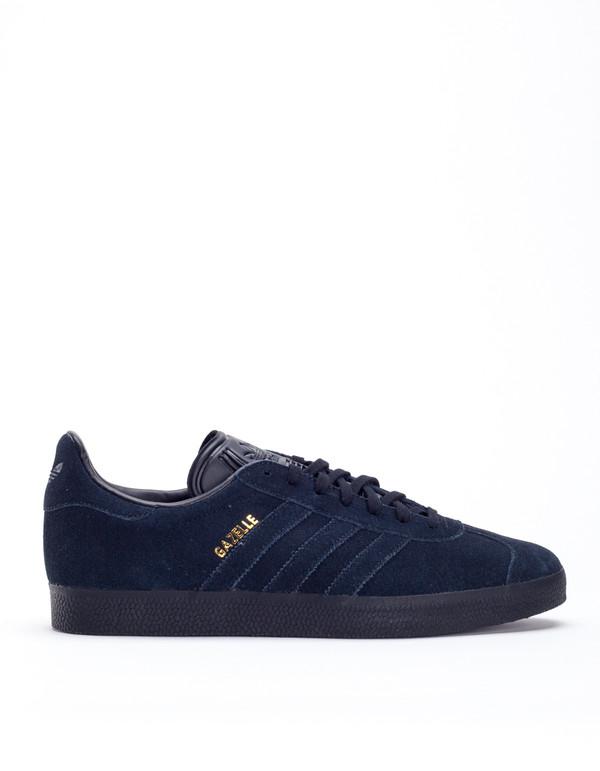 29c97c567106ca Adidas Gazelle Core Black Black Gold