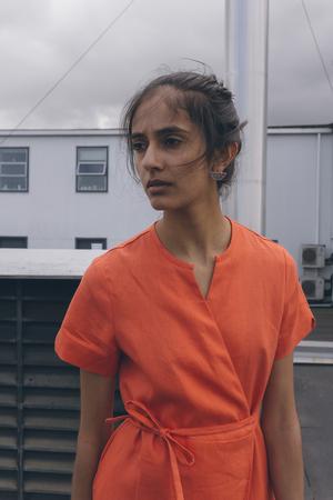 GARMENTORY EXCLUSIVE | Nikki Chasin Leda Wrap Dress