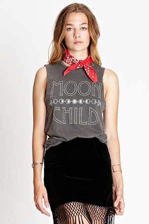 Daydreamer LA Moon Child Tank Top