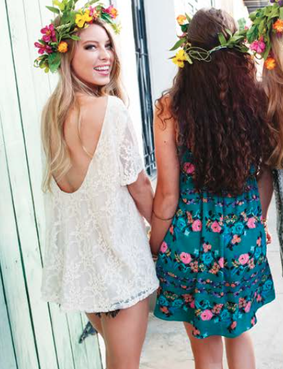Show Me Your Mumu Trapeze Mini Dress