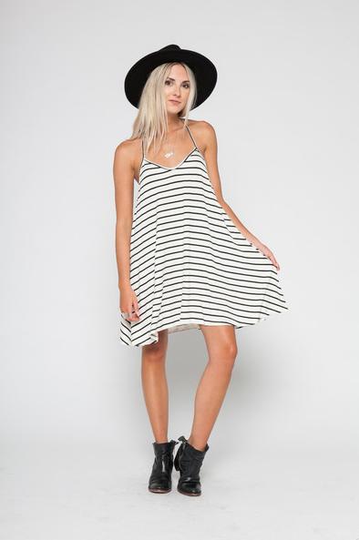 Wonderland Honolulu V-Strap Mini Dress
