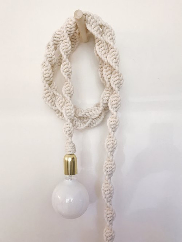 Windy chien helix rope light white