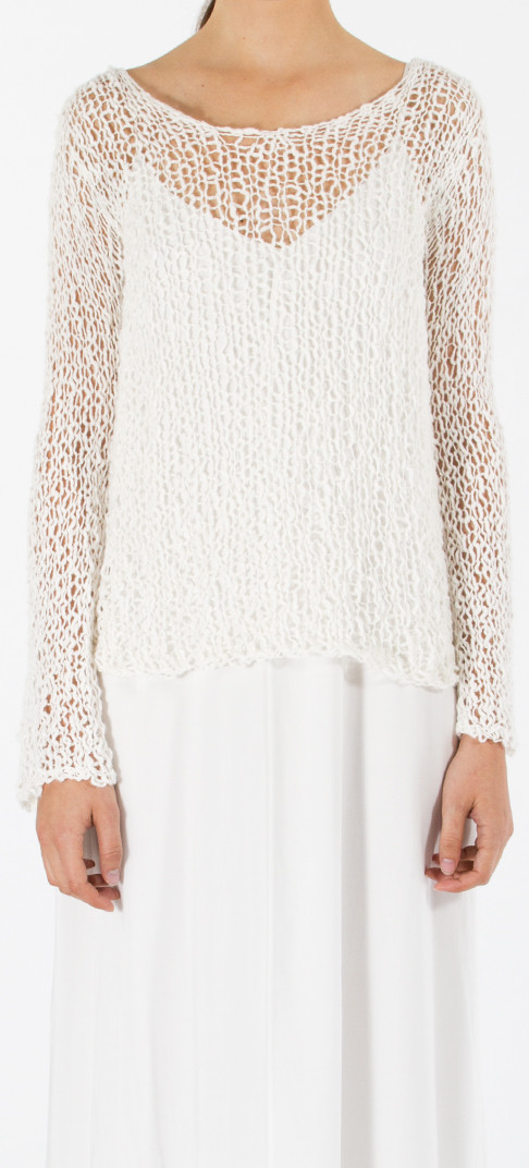 VOZ Loose Knit Long Sweater