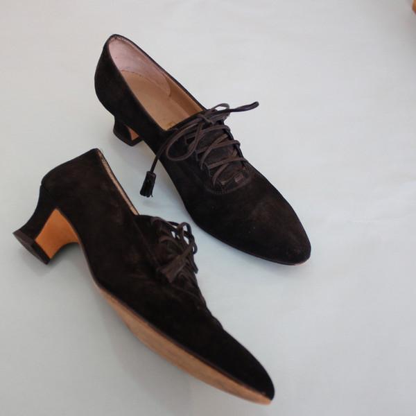 Myrtle Vintage Ferragamo Lace-up Heels