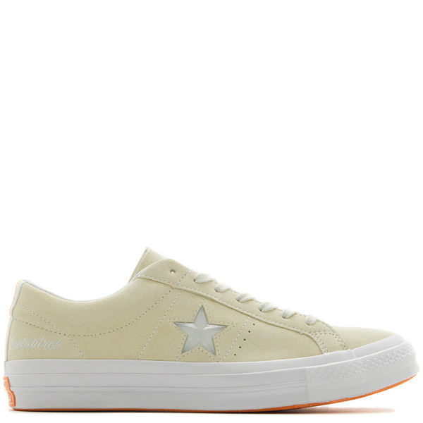 sports shoes f0655 e1f34 CONVERSE GOLD STAR X FOOTPATROL ONE STAR - VANILLA CUSTARD. sold out