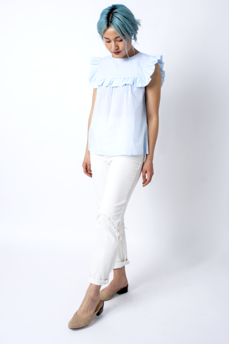 Rachel Comey Ticklers Jeans - Dirty White