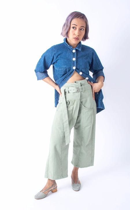 Rachel Comey Tolleson Pant - Sage