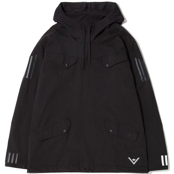 a274221e4 ADIDAS ORIGINALS BY WHITE MOUNTAINEERING PULLOVER JACKET - BLACK ...