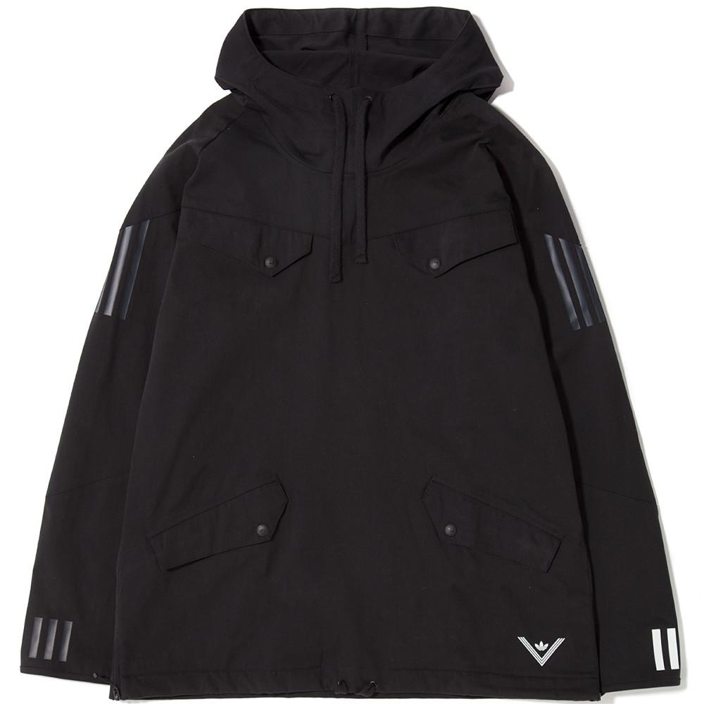 1e834d107 ADIDAS ORIGINALS BY WHITE MOUNTAINEERING PULLOVER JACKET - BLACK |  Garmentory
