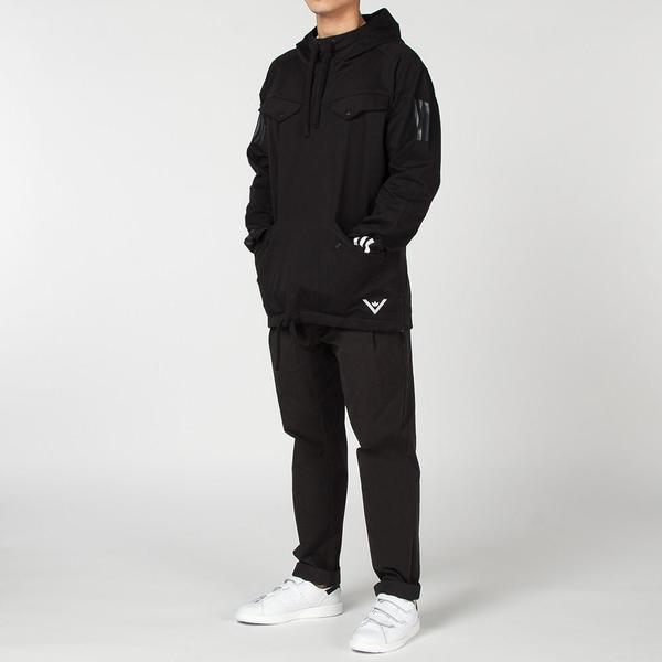 6e6a0d032 ADIDAS ORIGINALS BY WHITE MOUNTAINEERING PULLOVER JACKET - BLACK. sold out.  Adidas