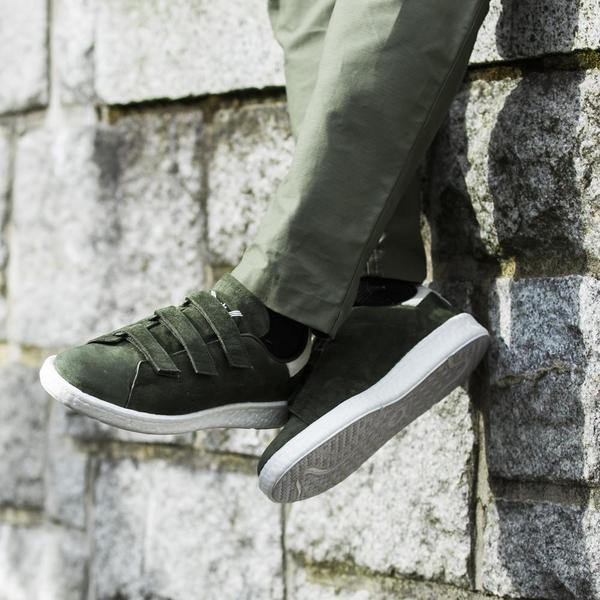 Adidas Originali Dei Bianchi Di Alpinismo Stan Smith Di Notte Cargo