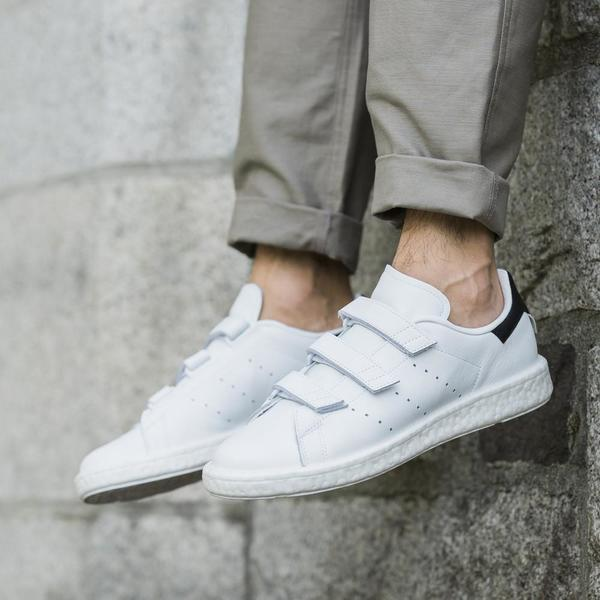 brand new 1a4b5 7eed0 ADIDAS ORIGINALS BY WHITE MOUNTAINEERING STAN SMITH CF - WHITE