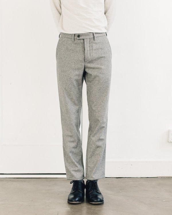 921ed0d74e6 Norse Projects Thomas Slim Light Wool Trouser - Light Grey Melange ...