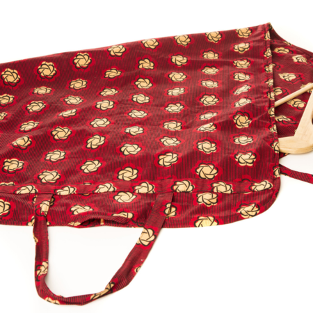 Fashion Rising Collection Multicolor African Wax Print Garment Bag