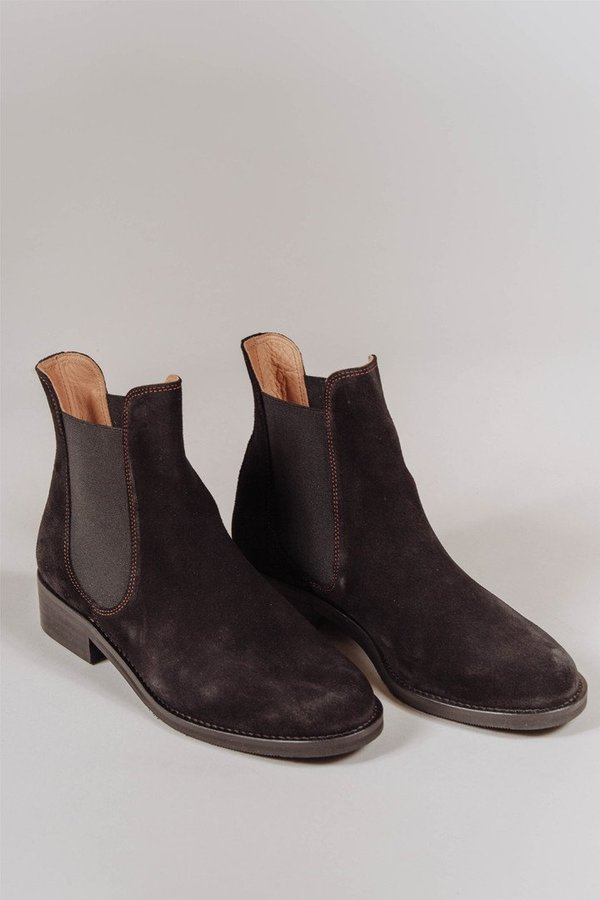 Ganni Suede ankle boots cheap sale discounts clearance authentic discount free shipping Q7AEfM4SE