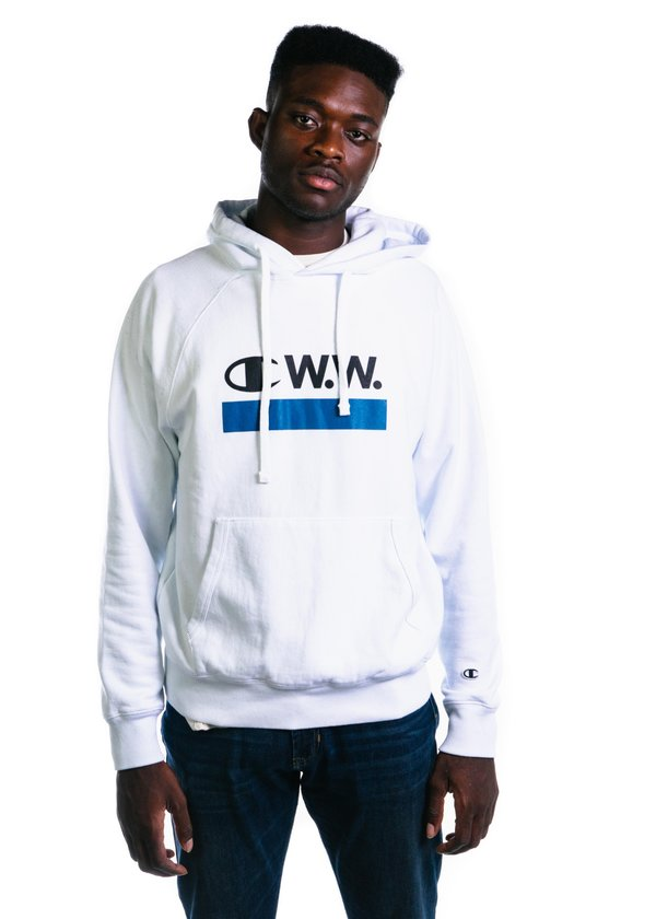 WhiteGarmentory X Sweat Champion Bright Hooded Wood doWrCxeB