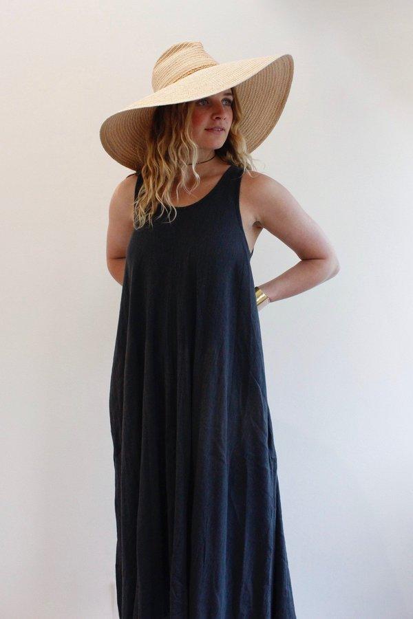 Black Crane Floral Dress Garmentory