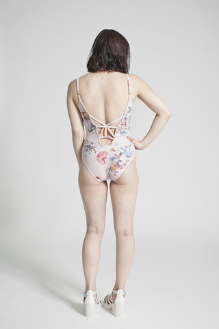 Mimi Hammer Floral One Piece Swimsuit