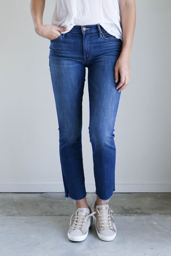 b3e5f34b87e3a Mother Denim Rascal Ankle Snippet - Sweeter the Juice