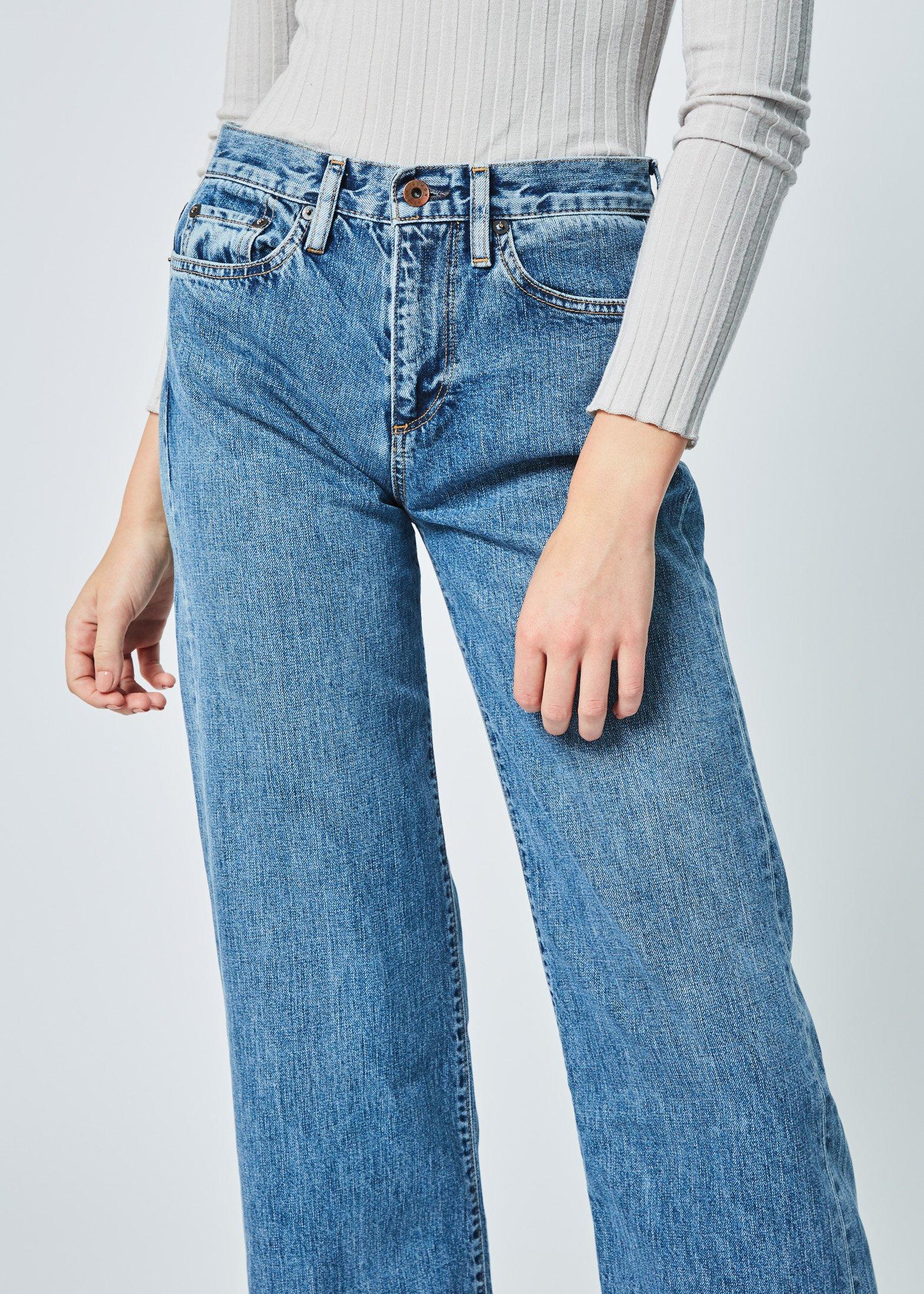 0bc90f75b8f Simon Miller Marlo Wide Leg Jean - Mid Indigo Wash   Garmentory